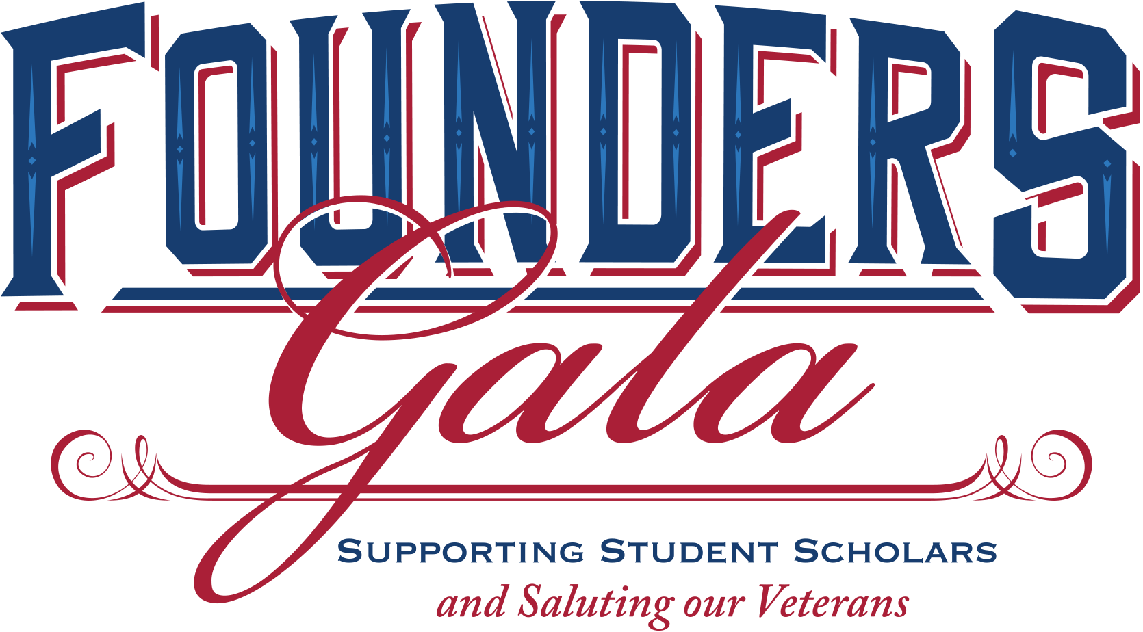 Founders Gala, supporting student scholars and saluting our veterans